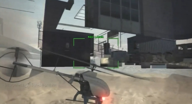 [MW3] グリッチ(裏技):地面の下に無人偵察機を飛ばす方法  1:08