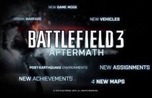 """『BATTLEFIELD 3』12月配信予定の""""AFTERMATH""""プレミアム限定トレイラーが早くも流出中か"""