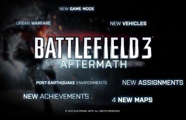 """[BF3] 『BATTLEFIELD 3』12月配信予定の""""AFTERMATH""""プレミアム限定トレイラーが早くも流出中か"""