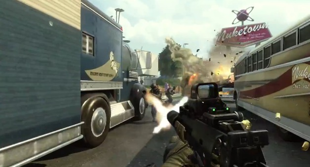 [BO2] 『Black Ops 2』正式版「Welcome to Nuketown 2025」動画公開!ド派手に進化しマップデザインは前作同様か