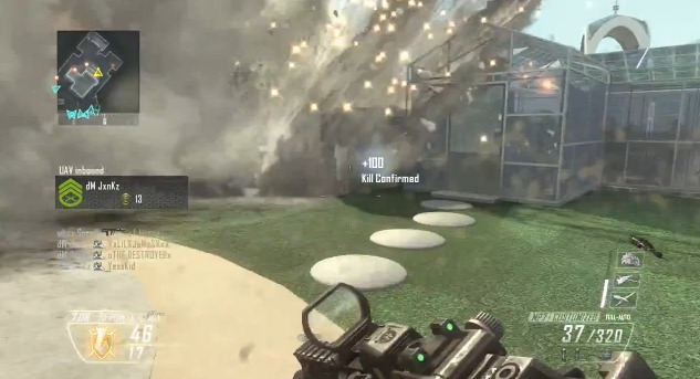 [BO2] 世界最速?! 『Black Ops 2』マルチプレイヤー対戦動画
