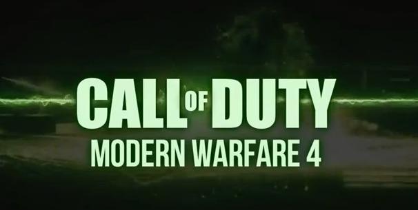 [MW4] 速報!『Call of Duty: Modern Warfare 4』の公式トレイラーっぽいのが早くもリーク!風オモシロ動画