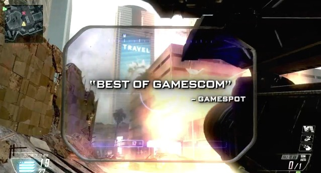 "[BO2] 『CoD: Black Ops 2』公式トレイラー ""Gamescom Multiplayer Accolades"" 1:15"