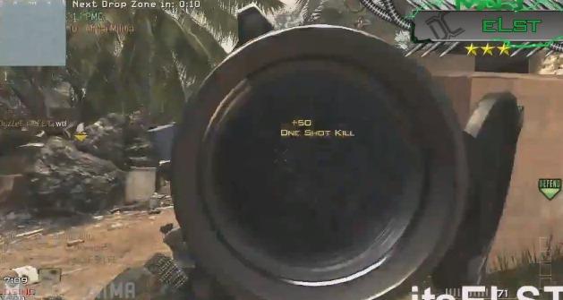 [MW3] 『Modern Warfare 3』TOP5プレイ!2位が完全にオートエイム 3:13
