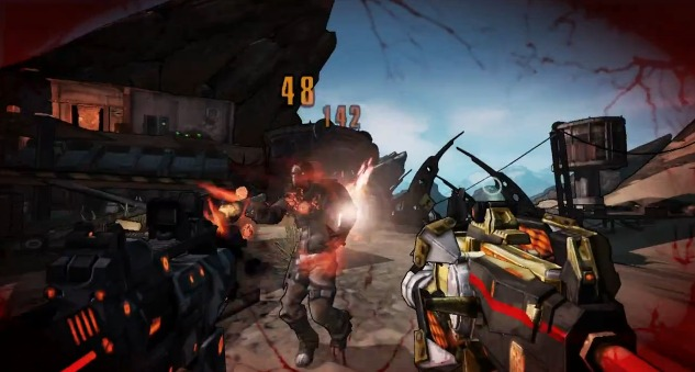 """[BL2]  神ゲー(仮):『Borderlands 2』新トレイラー""""Come and get me""""公開!"""