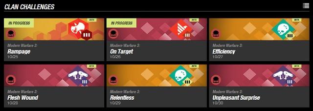 『Call of Duty ELITE』でクラン同士の競争やチャレンジがいよいよ開催! XPや専用バッジも入手可能