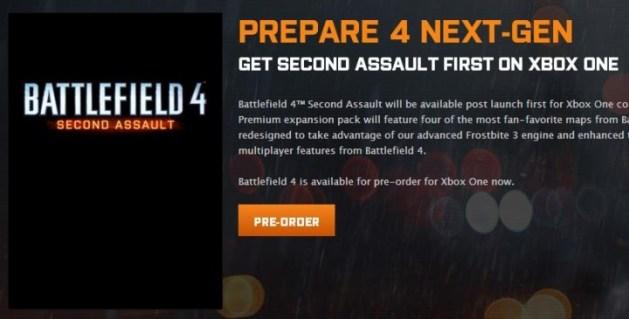 BATTLEFIELD 4:第2弾DLC「SECOND ASSAULT」発表!BF3の人気マップ4つをリメイク