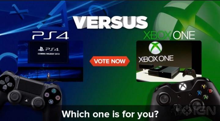 IGN「Xbox OneとPlayStation 4、どっちを選ぶ?」 75%があちらを選択