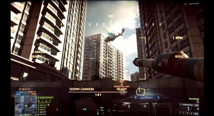 BATTLEFIELD 4:戦車やヘリでのプレイ動画や、ビークルの豊富すぎるカスタマイズ要素が判明