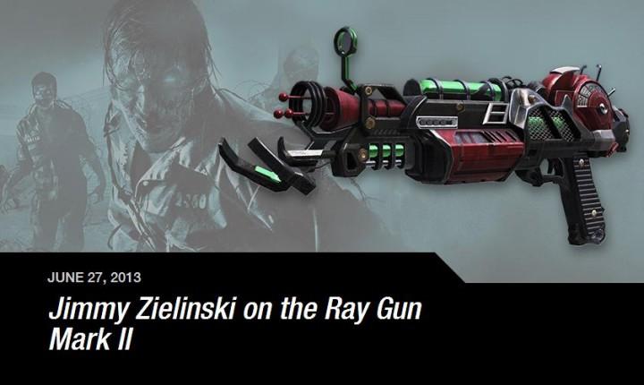 """CoD:BO2:強化されたレーザー銃""""レイガン マークⅡ""""プレイ動画。壁やゾンビを貫通する"""