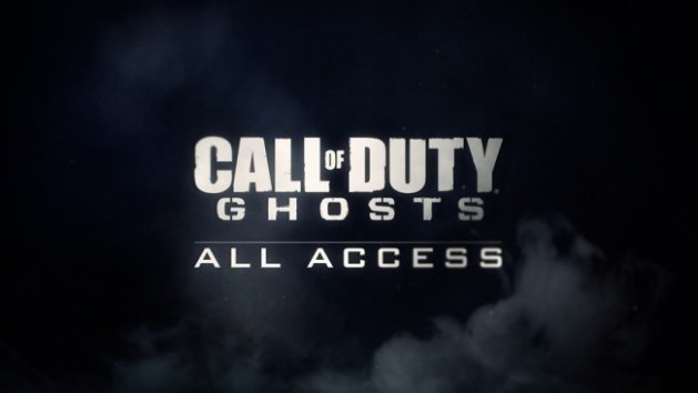 """Call of Duty:Ghosts """"All Access"""" Gameplay Reveal -LIVE STREAM"""