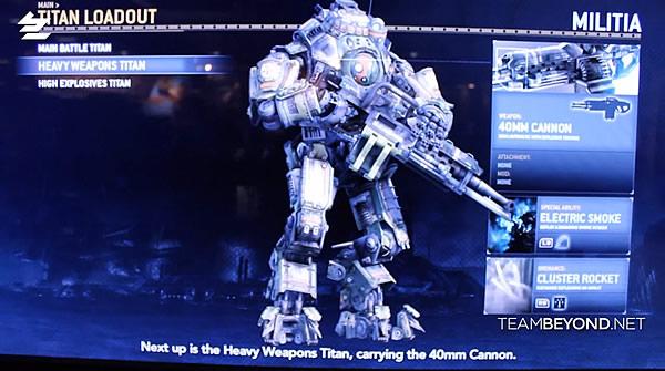 『Titanfall(タイタンフォール)』Heavy Weapons Titan