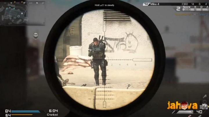 『CoD:ゴースト』のクイックスコープ(QS)検証動画