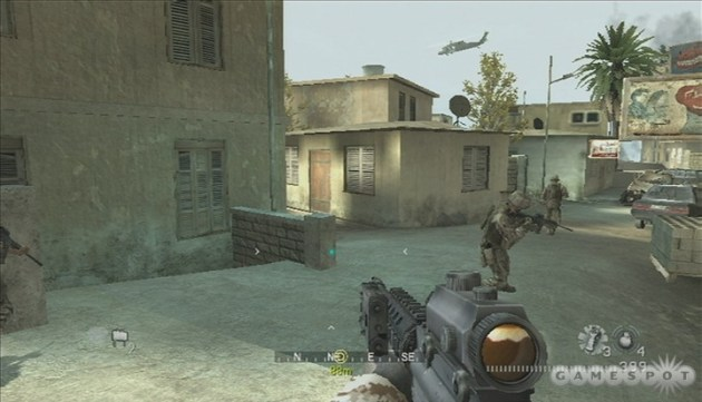 Call of Duty Modern Warfare Reflex