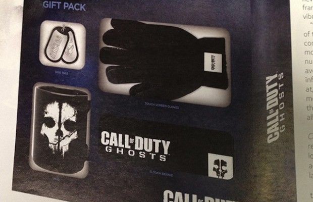 「Call of Duty: Ghosts ギフトパック」なる公式グッズが登場