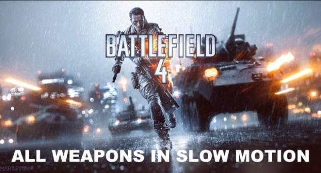 BATTLEFIELD 4:全武器のリロードモーションまとめ