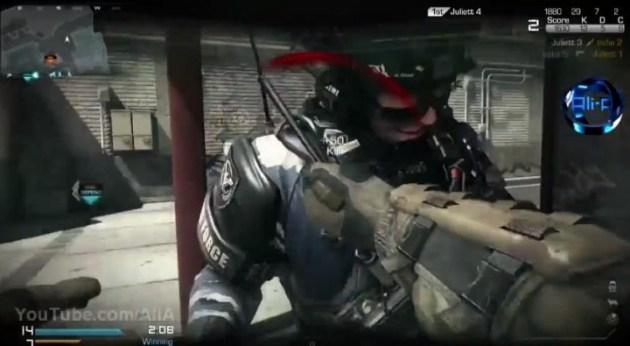 CoD: ゴースト:様々な武器やマップが確認できる、マルチプレイヤーハイライト動画