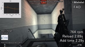 CoD: ゴースト:全プライマリ武器の詳細ステータスとリコイル検証動画