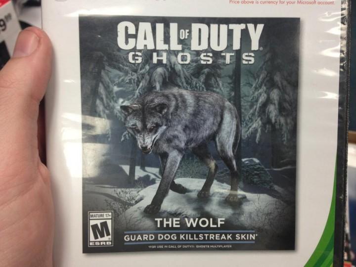 """CoD ゴースト : ガード・ドッグ用のスキン""""The Wolf""""が追加?[更新]"""