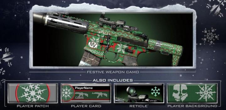 CoD: ゴースト:DLC「Festive Pack」配信開始、ゲーム内からはアクセス出来ず