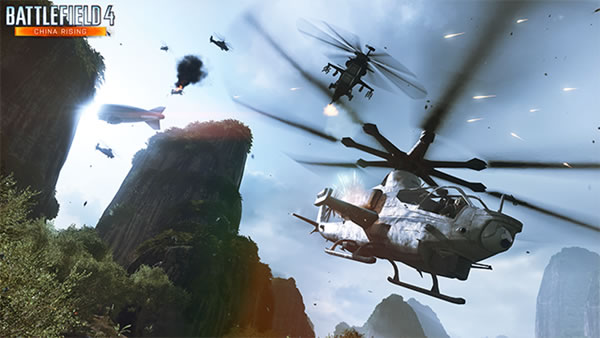 Battlefield 4 : 超絶テクニック! ヘリでのスタント動画を紹介