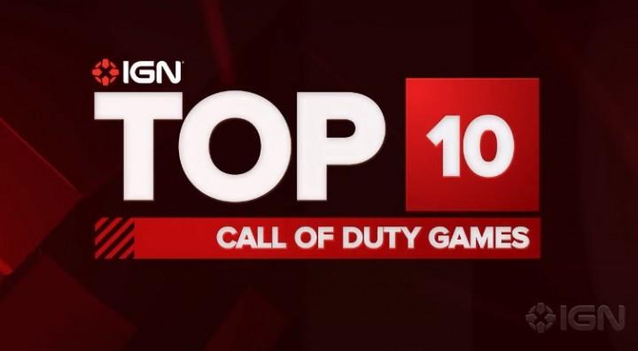 IGNが選ぶ、『Call of Duty』シリーズ全作品TOP10ランキング!