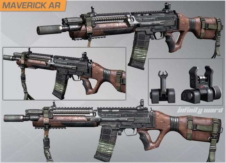 """CoD: ゴースト:新武器""""Maverick""""を、DLC未購入で使う2つの方法"""