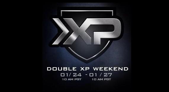 CoD: ゴースト:全プラットフォーム対象のダブルXP(経験値2倍)開催!1月25日から28日まで