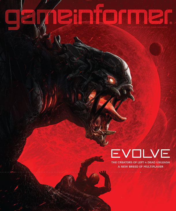 Game Informerの来月号表紙画像