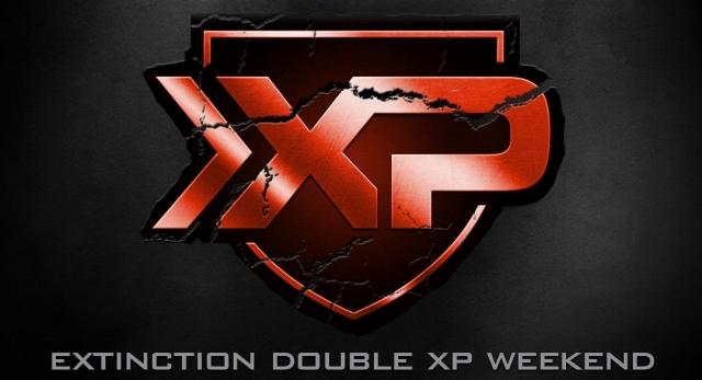 CoD: ゴースト:Extinction ダブルXP(経験値2倍)開催!2/1から