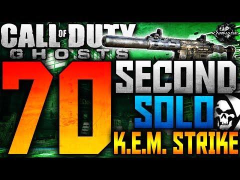CoD: ゴースト:70秒K.E.M.! 0:36がカオス