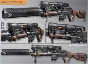 CoD ゴースト: 異端な新武器「Maverick」高解像度画像