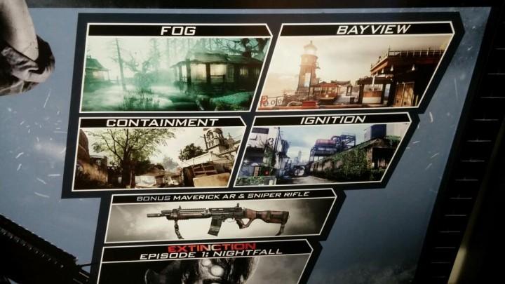 """CoD: ゴースト: 第一弾DLCパック""""Onslaught""""のポスターがリーク、武器2本追加で1/28配信?"""