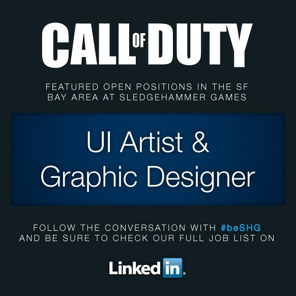 CoD2014-00-Ui Artist-Graphic Designer