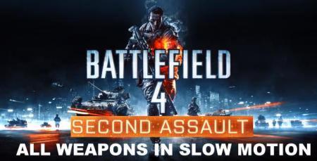 "BATTLEFIELD 4""Second Assault""で追加された武器のリロードモーションまとめ!"