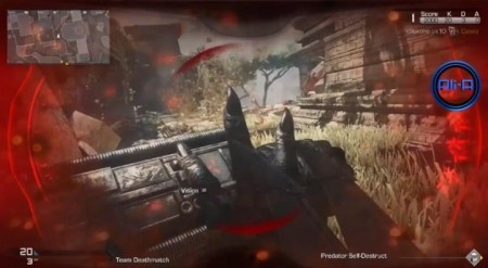 CoD ゴースト:プレデターはあの爪とあのレーザー、そしてあの自爆装置持ち(プレイ動画)