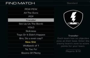 CoD ゴースト:プレイリストの名称が謎の言葉に!r