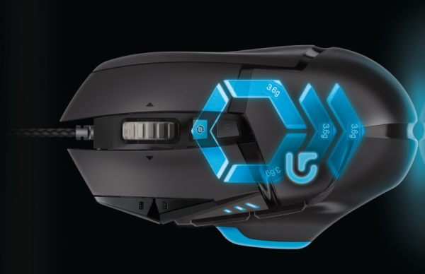 Logitechがサイバーな見た目のゲーミングマウス「G502 Proteus Core」を発表