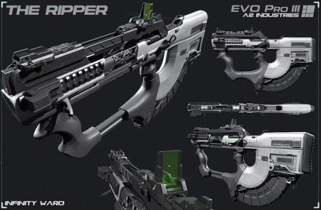 "CoD ゴースト:新武器""The Ripper""、シーズンパス保持者向けに4月5日解禁"