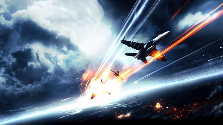 Battlefield 4 動画 : 戦闘機 + ヤシの木 = 勝利