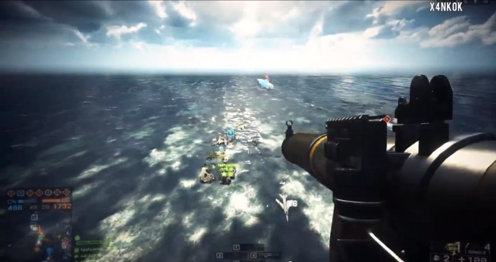 Battlefield 4 : 人間業とは思えないモンタージュ動画