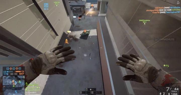 Battlefield 4:弾が当たらない?当てにいけばいいじゃない(2本)