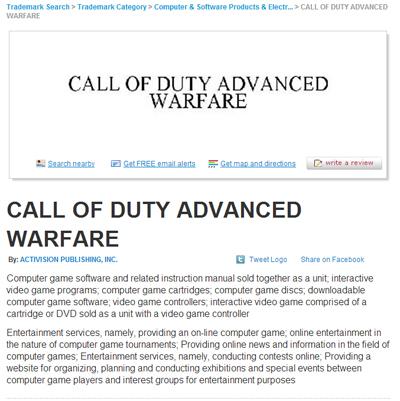 『Call of Duty: Advanced Warfare』