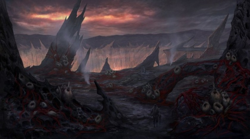 "CoD ゴースト:エイリアンモード""Extinction""のコンセプトアートが公開(5枚)"