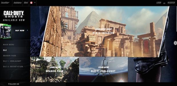 """CoD: ゴースト:DLC第3弾""""Invasion""""に含まれる新マップ3種の画像公開"""
