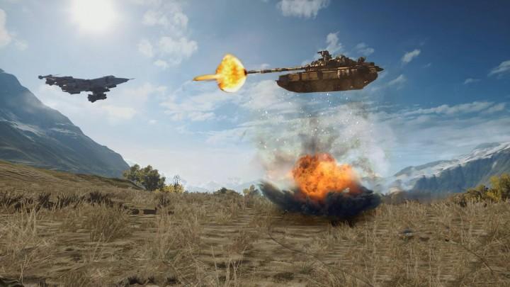 Battlefield 4 : 「旗をぉ! 捕まえてぇぇ! 旗をぉ! タンク乗ってぇぇっ! 飛距離読んでえぇっ! まだ飛ぶぅぅ! 旗をぉっ! ・・・つっ近づけてぇっ! 旗をぉ決めたぁぁーっ!」