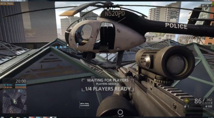 BFH:PC/ベータ版『Battlefield Hardline』のプレイ動画がリーク