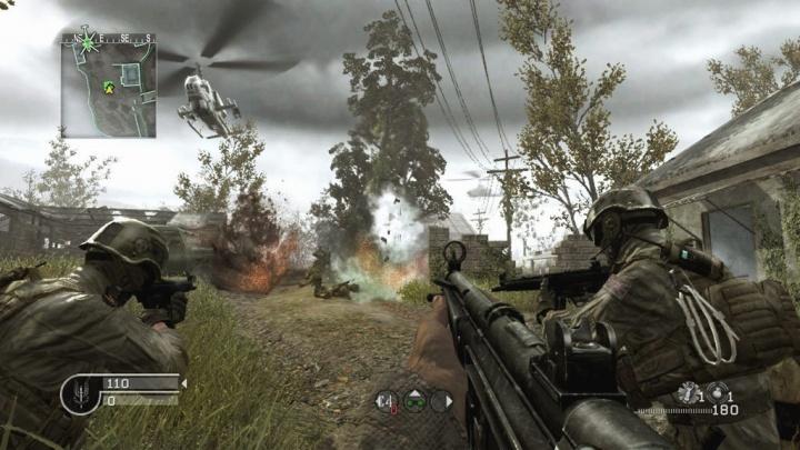 cod4-mw Call of Duty 4 Modern Warfare