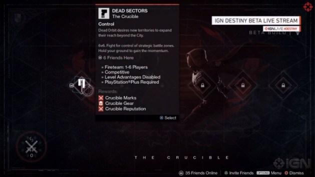Destiny:6種のマルチプレイヤーモードが判明、Control, Clash, Rumble, Combined Arms, Skirmish, Salvage