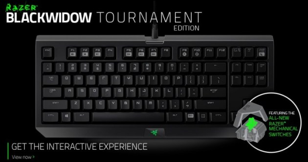 「BlackWidow Tournament Edition」シリーズ000